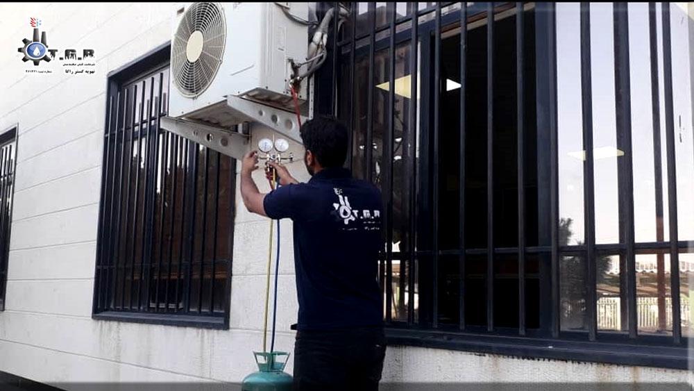 تعمیر کولر گازی : تعمیرات انواع air conditioner در محل