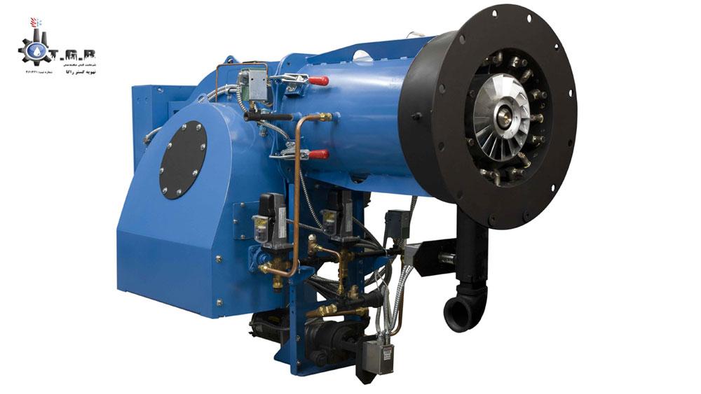 مشعل دیگ بخار موتورخانه گرمایش مرکزی