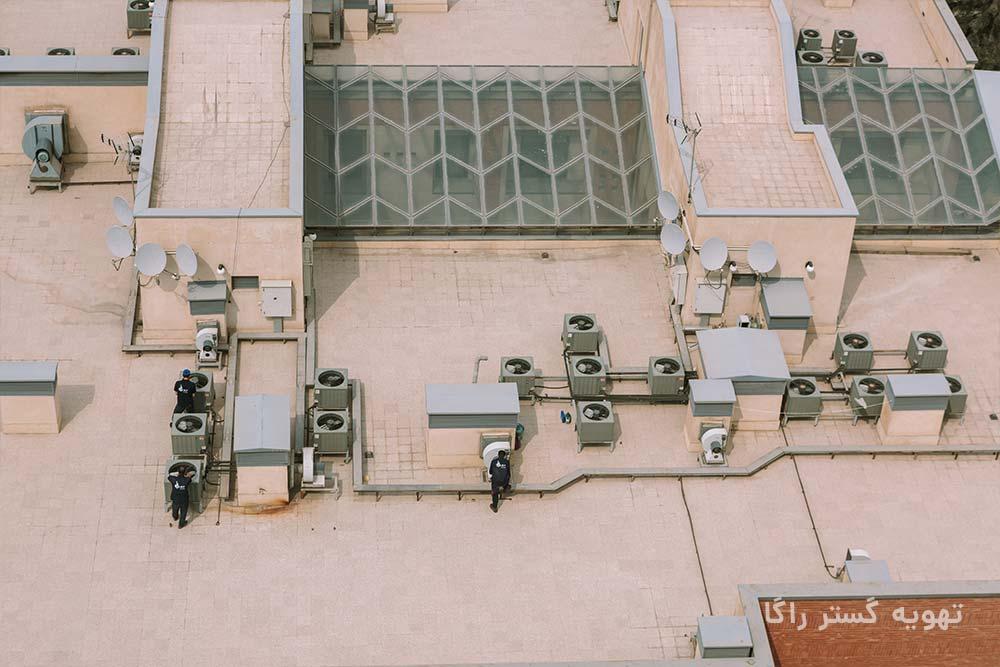 تعمیر داکت اسپلیت در تهران