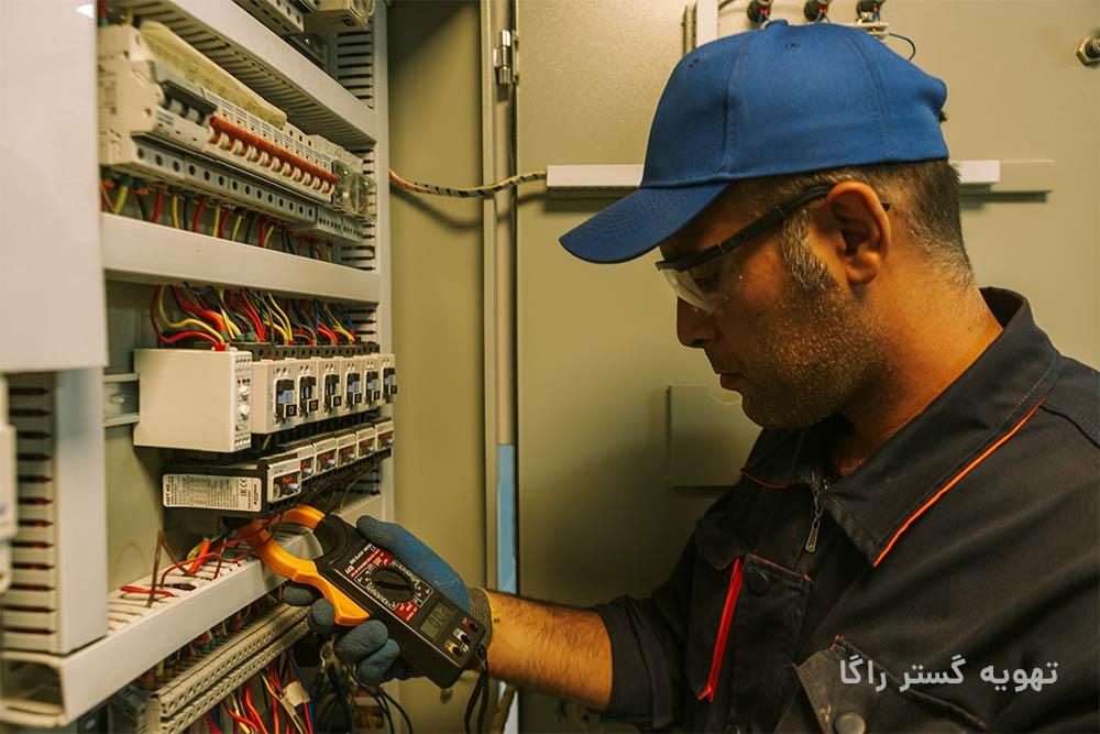 سیم کشی ساختمان و برقکاری ساختمان