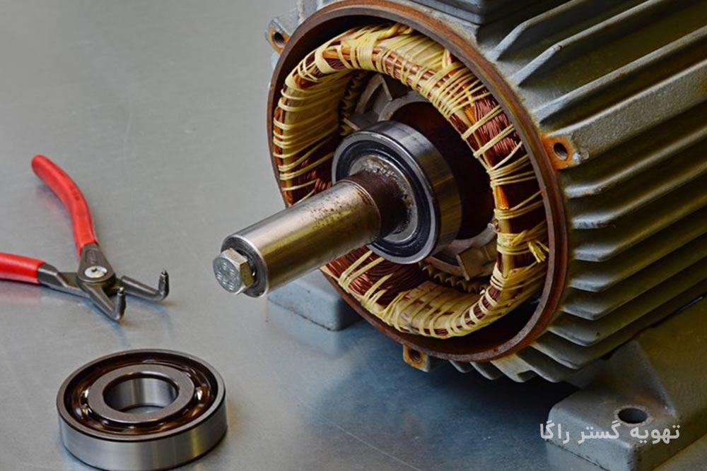 سیم پیچی و تعمیر الکتروموتور