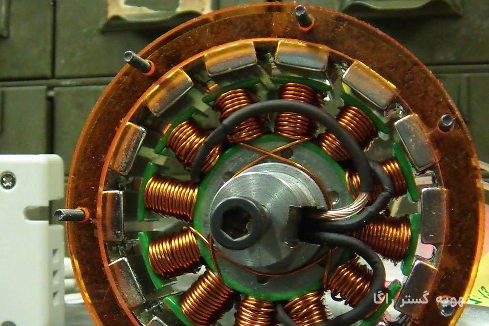 سیم پیچی الکتروموتور