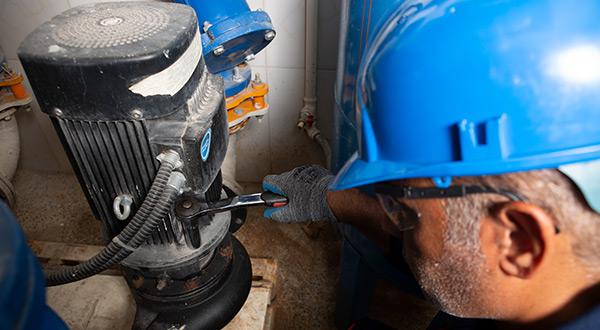 تعمیر پمپ آب ساختمان (تعمیر پمپ آب خانگی)