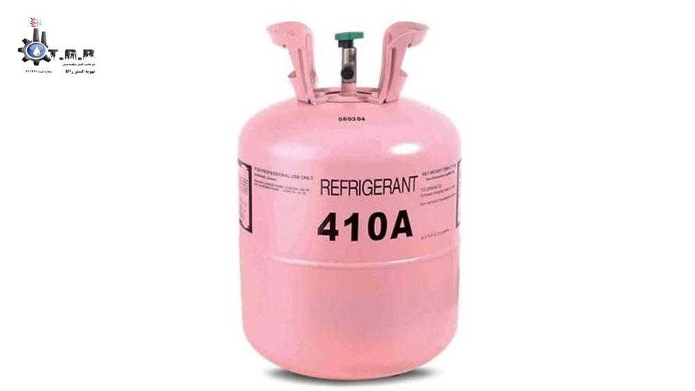 آشنایی با کپسول گاز مبرد کولر گازی R410a یکی از مراحل آموزش گاز کولر گازی