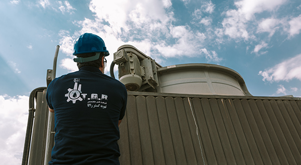 تعمیر برج خنک کننده : تعمیرات برج خنک کن چیلر
