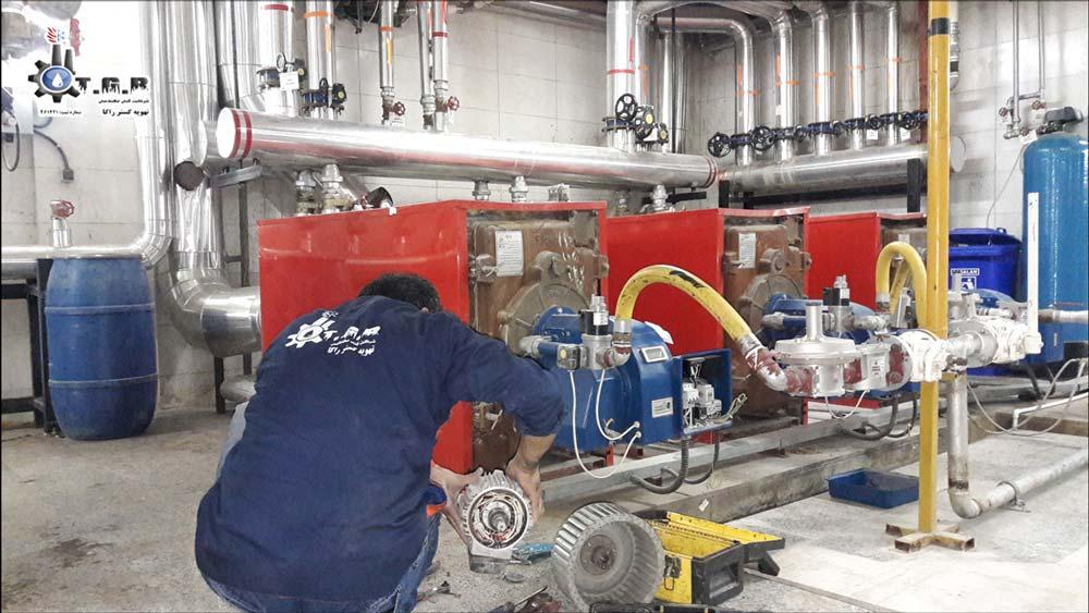 تعمیر مشعل موتورخانه : تعمیرات و سرویس مشعل موتورخانه با بهترین قیمت