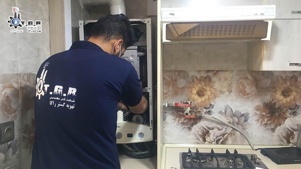 تعمیر پکیج : تعمیرات انواع پکیج دیواری در تهران (24 ساعته با 1 سال گارانتی)