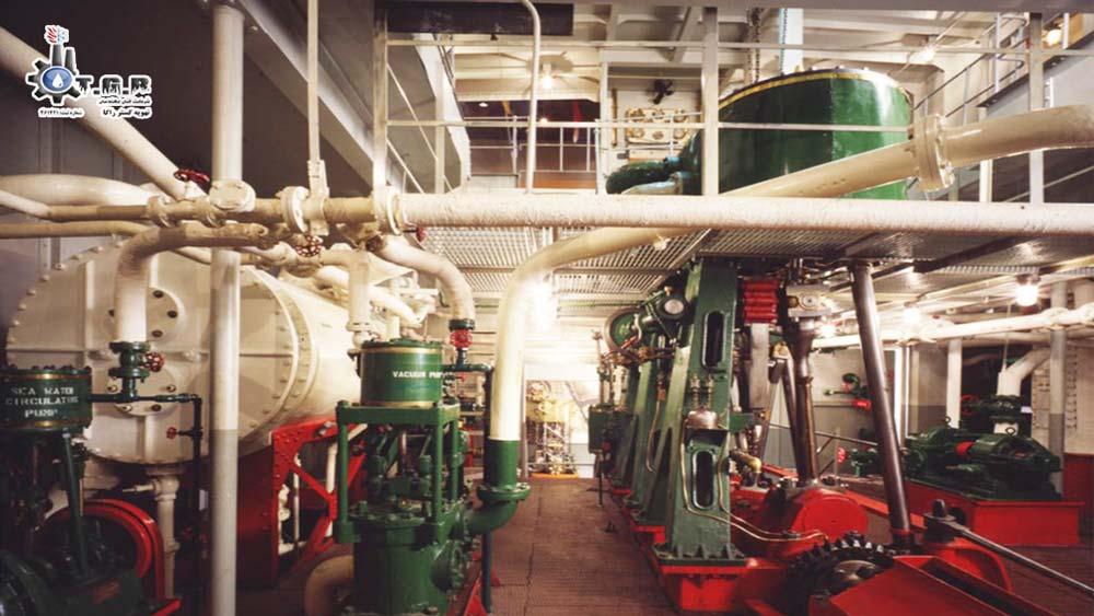 ساختار مشعل موتورخانه و اجزای تشکیل دهنده آن