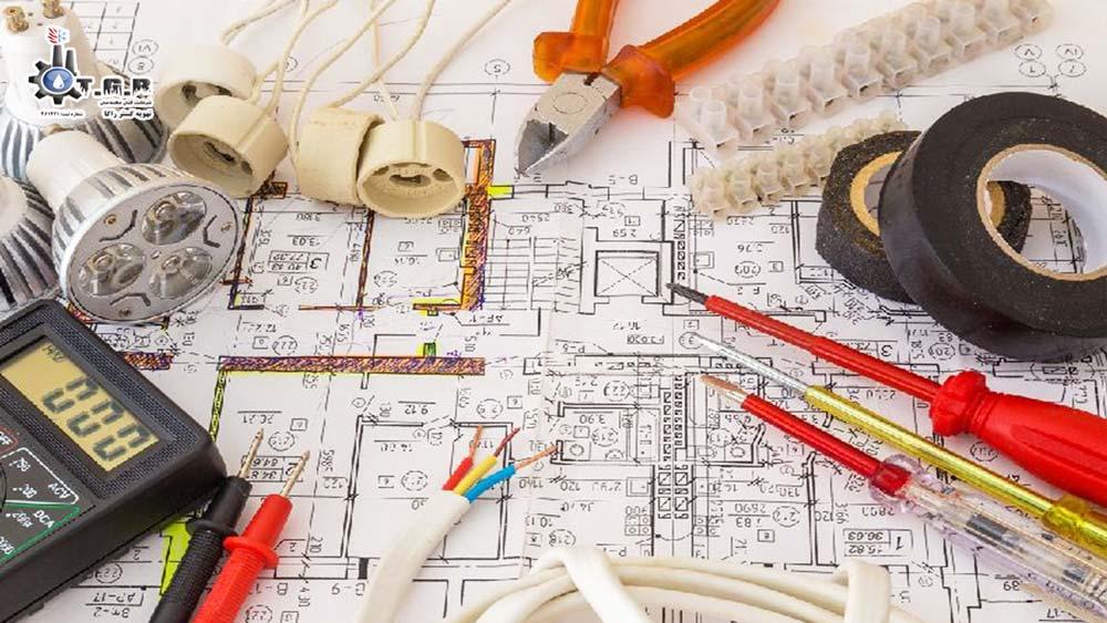 نقشه برق کشی ساختمان