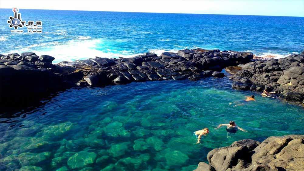 استخر اقیانوسی یکی از انواع استخرها