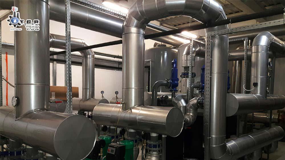عایق کاری موتورخانه از موارد سرویس و نگهداری موتورخانه است