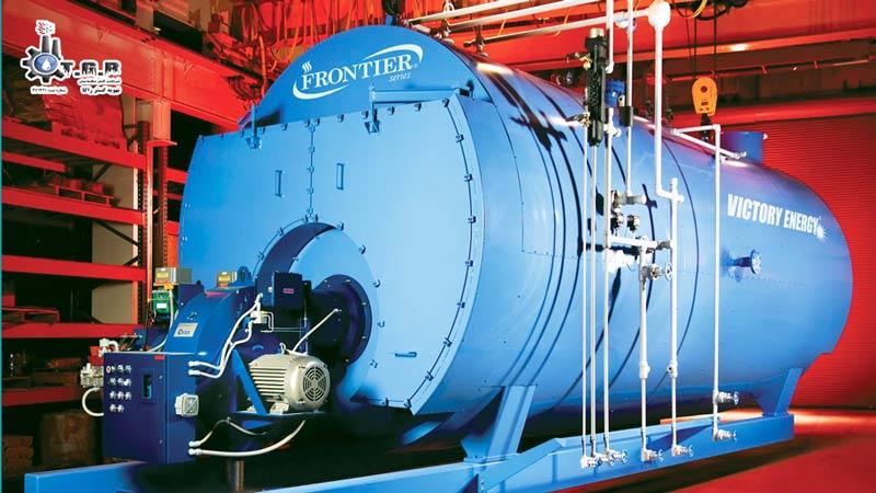 بویلر موتورخانه وظیفه تامین گرما را برعهده دارد