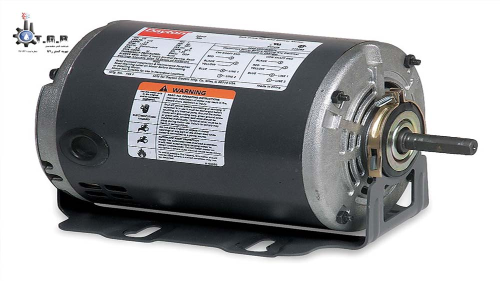 یکی از انواع موتورهای الکتریکی