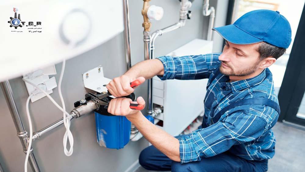 تعمیر پمپ آب گرم موتورخانه