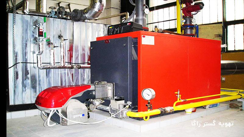 مونتاژ دیگ چدنی : روش نصب دیگ های موتورخانه چدنی