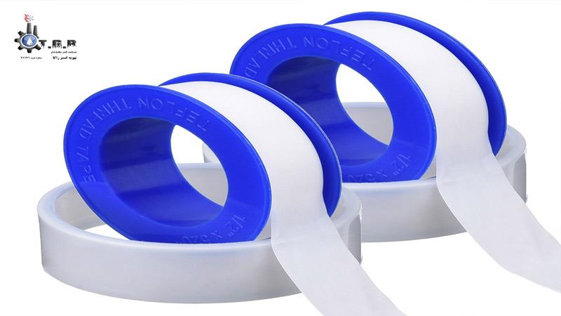 استفاده از نوار تفلون یکی دیگر از روش های آب بندی لوله های فاضلاب
