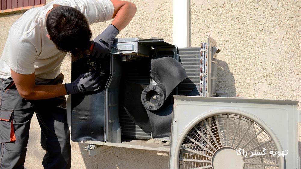 تعمیرات air conditioner در تهران